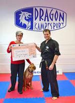 Spendenübergabe für Tierheim Trier