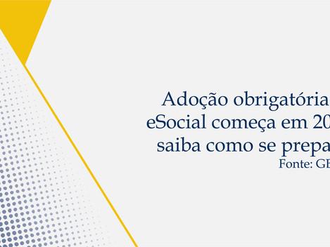Adoção obrigatória do eSocial começa em 2018; saiba como se preparar