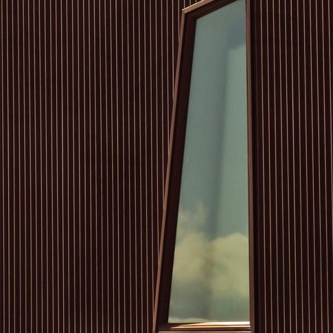 Window in Corregated Iron