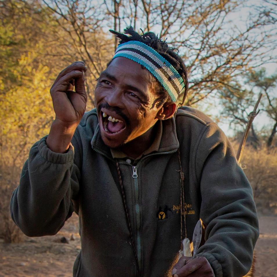 Happy Bushman