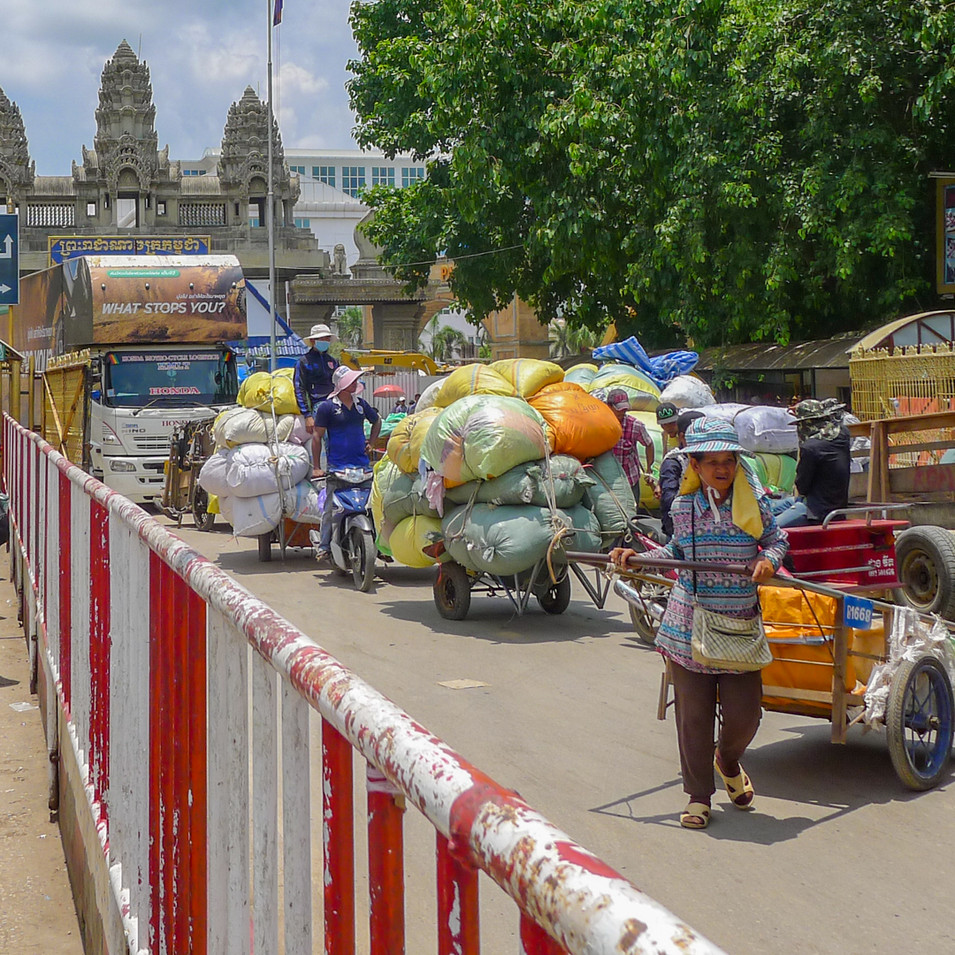 Border Crossing Cambodia
