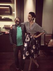 Rohit Jayakaran and Anushka Sharma
