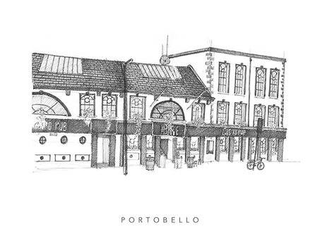 the barge pub by the grand canal in portobello, dublin. fine art print, giclee quality