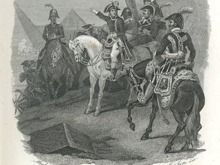 CENNI STORICI SULLA SPEDIZIONE SCIENTIFICO – MILITARE NAPOLEONICA IN EGITTO NEL 1798