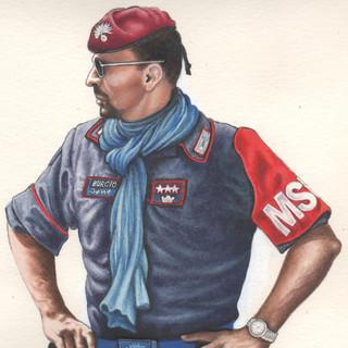 Carmelo Burgio, comandante delle forze MSU
