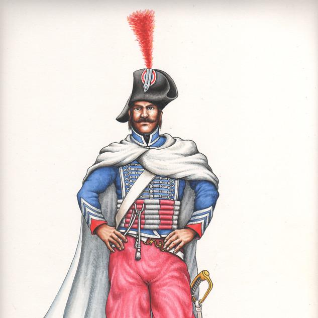 Soldato reggimento dromedari