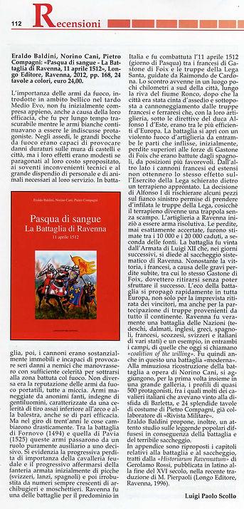 """Recensione del libro """"Pasqua di sangue - la battaglia di Ravenna"""""""