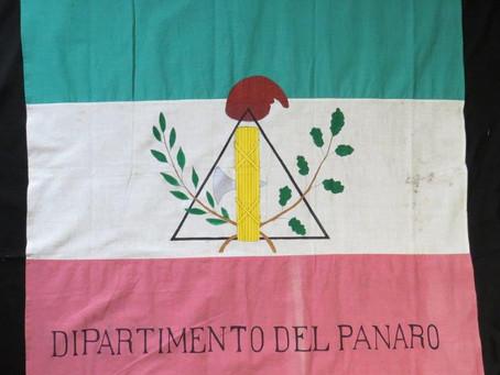 Bandiera a campi orizzontali della Guardia Nazionale del Dipartimento del Panaro, 1801