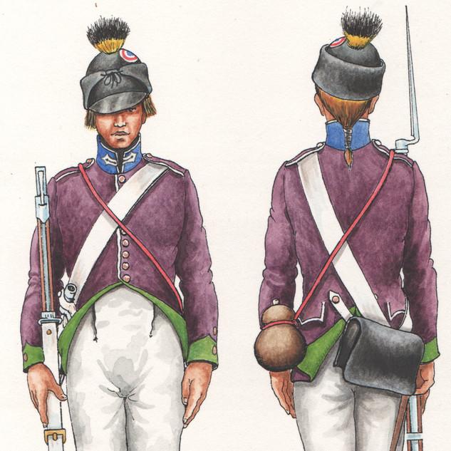 Fanteria 88° Demi-brigade