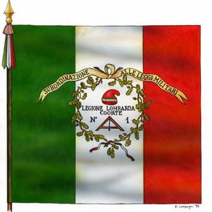 Bandiera della Legione Lombarda