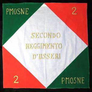 Stendardo del secondo reggimento Usseri, diritto, 1802
