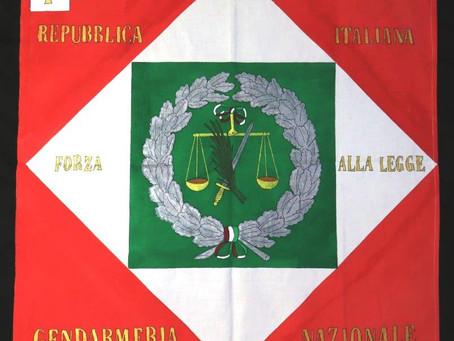 Bandiera della Gendarmeria Nazionale, Repubblica Italiana, 1802