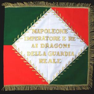 Stendardo dei Dragoni della Guardia Reale, 1813