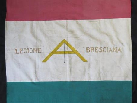 Bandiera a campi orizzontali della Legione Bresciana, 13 maggio 1797