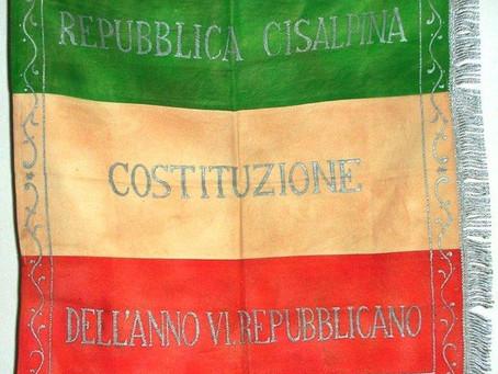 Stendardo a campi orizzontali degli Usseri di Requisizione di Milano, 26 ottobre 1797