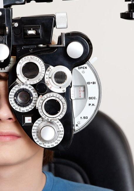 Refraction (eye power check)