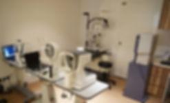 advance eye exam equipment