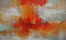 Girl On Fire ~ 48x30