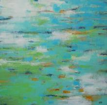 Hello Monet ~ 36x36