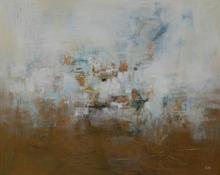 Gold Mist Rising ~ 60x48