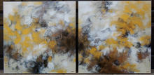 Golden Leaves in the Wind 1&2 ~ 30x30