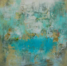 Turquoise Fading ~ 48x48