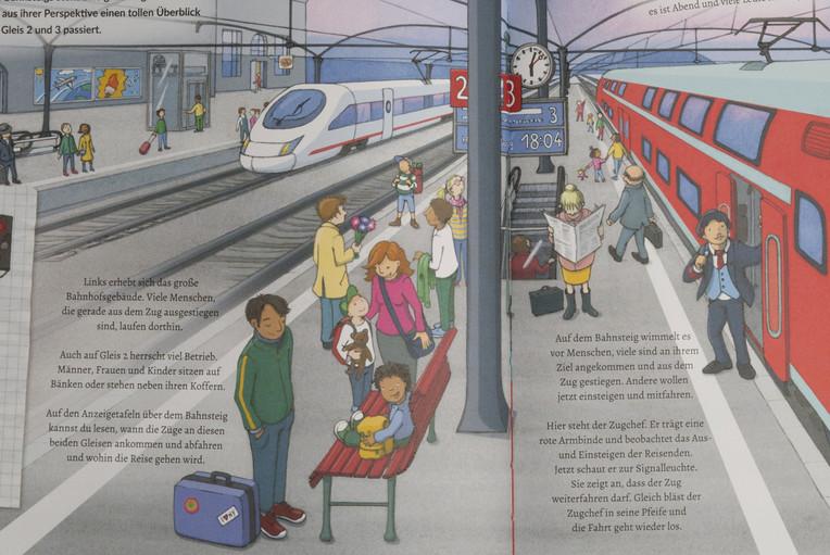 Fides Friedeberg Bahnhof Illustration ed