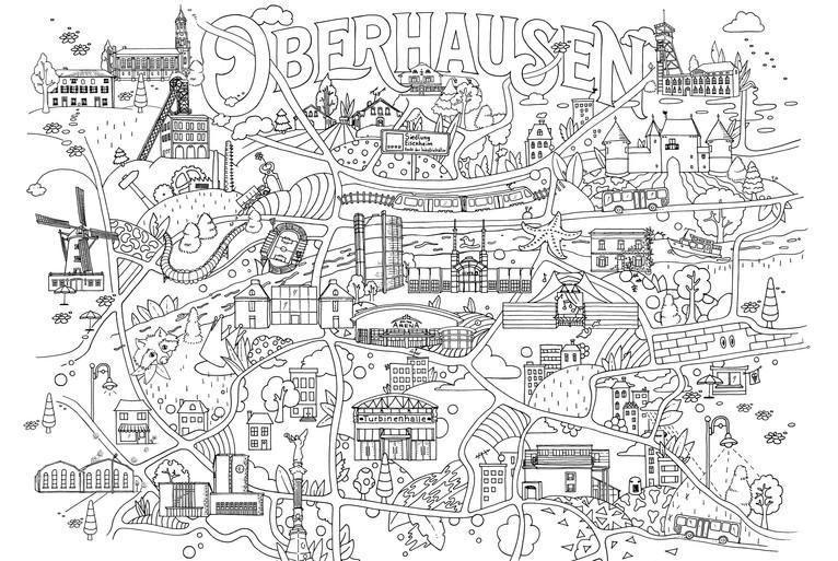 Fides Friedeberg Oberhausen Illustration