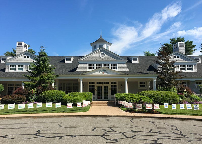 Pinehills Clubhouse Entrance
