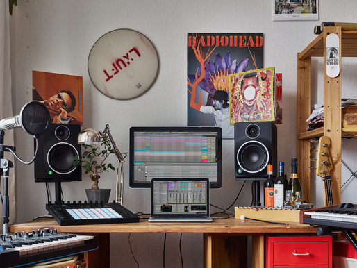 Getting your home studio up and running