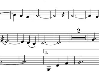 """Melodiana č. 1 Es dur """"Akátové vůně"""""""