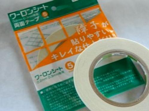 """Warlon Double-sided Tape 65' long x 3/16"""" wide"""