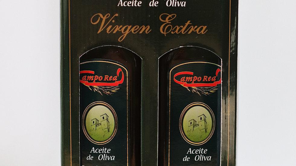Estuche de 2 unidades de 0,75 L de Aceite de Oliva Virgen Extra