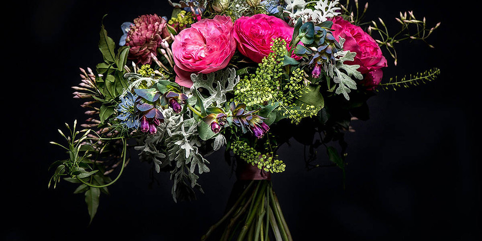 Hand tied Bouquet workshop - July 5th 2018