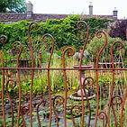 Pond, railings by Stray Sparks