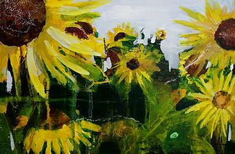 1.Sunflower inspiration 1.JPG