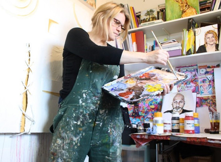 5 Tips on working with acrylic paint