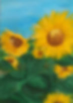 Sunflowers painting from class.JPG