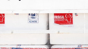 MG recebe mais de 190 mil doses da vacina contra a covid-19 desenvolvida pela Universidade de Oxford