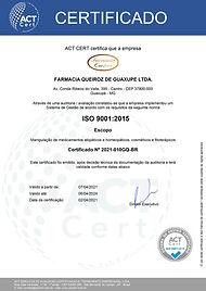 Certificado ACT CERT ISO 9001 2015 - 2021-010GQ-BR Português.jpg