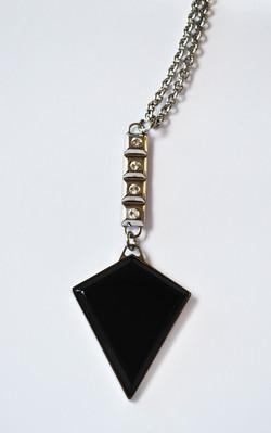 pendente donna + plexiglass nero