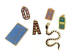 accessori con smalto livel
