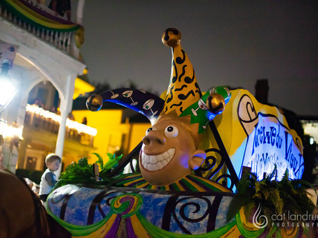 Parading in the Quarter