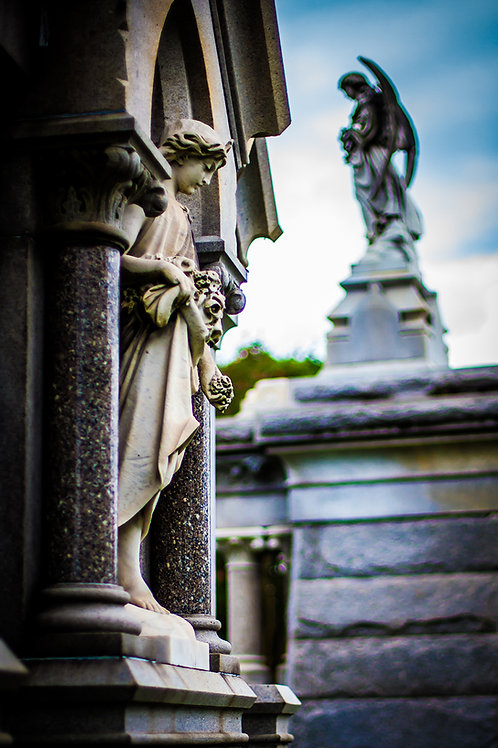 Cemetery #6 - Print
