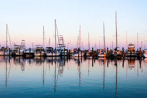 Long Beach Harbor - Print