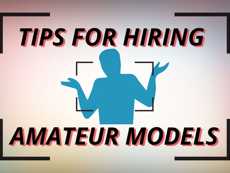 Tips for Photographing Amateur Models