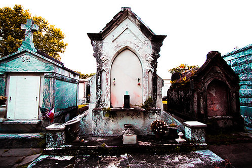Cemetery #3 - Print