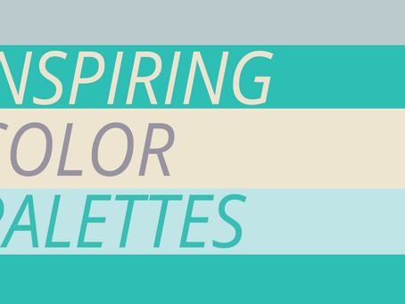Color Palettes to Inspire You