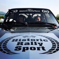 Rally car sound recording