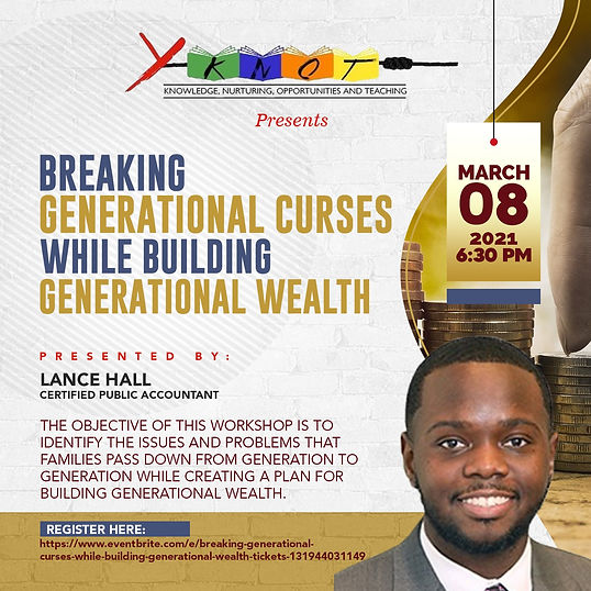 Breaking Generational Curses while Build